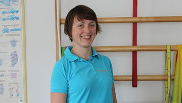 Physiotherapeutin Lisa Nitschke